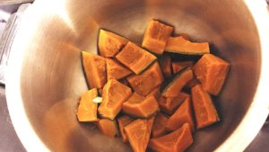 ホットクック でカボチャの煮物作り方