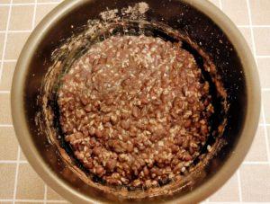 発酵あんこの作り方 炊飯器で簡単 できあがり
