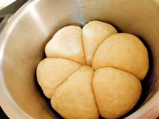 ホットクックでパン作り 焼き上がり