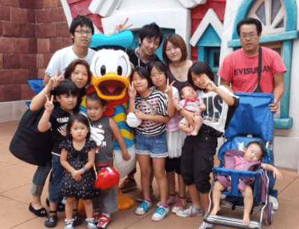 續夕美子 家族写真