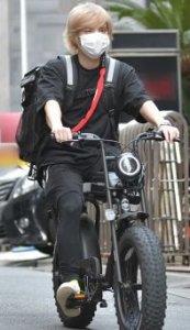手越祐也の自転車