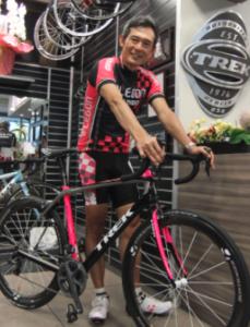 鶴見慎吾 自転車