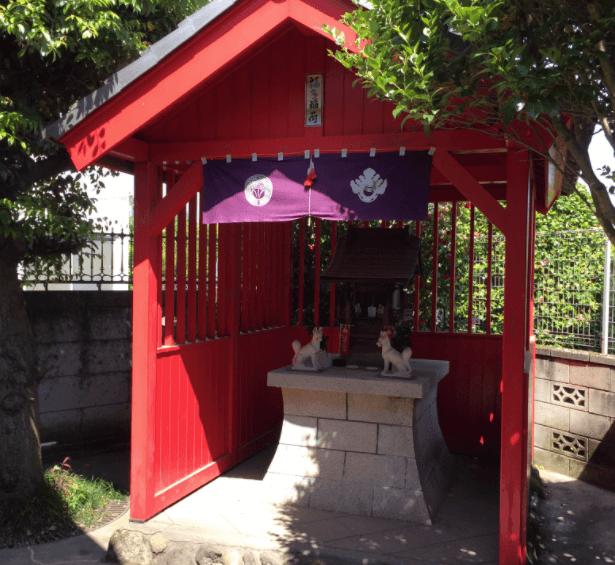 福田萌子 自宅 神社
