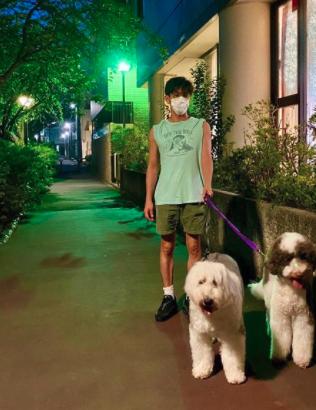木村拓哉 犬の散歩コース