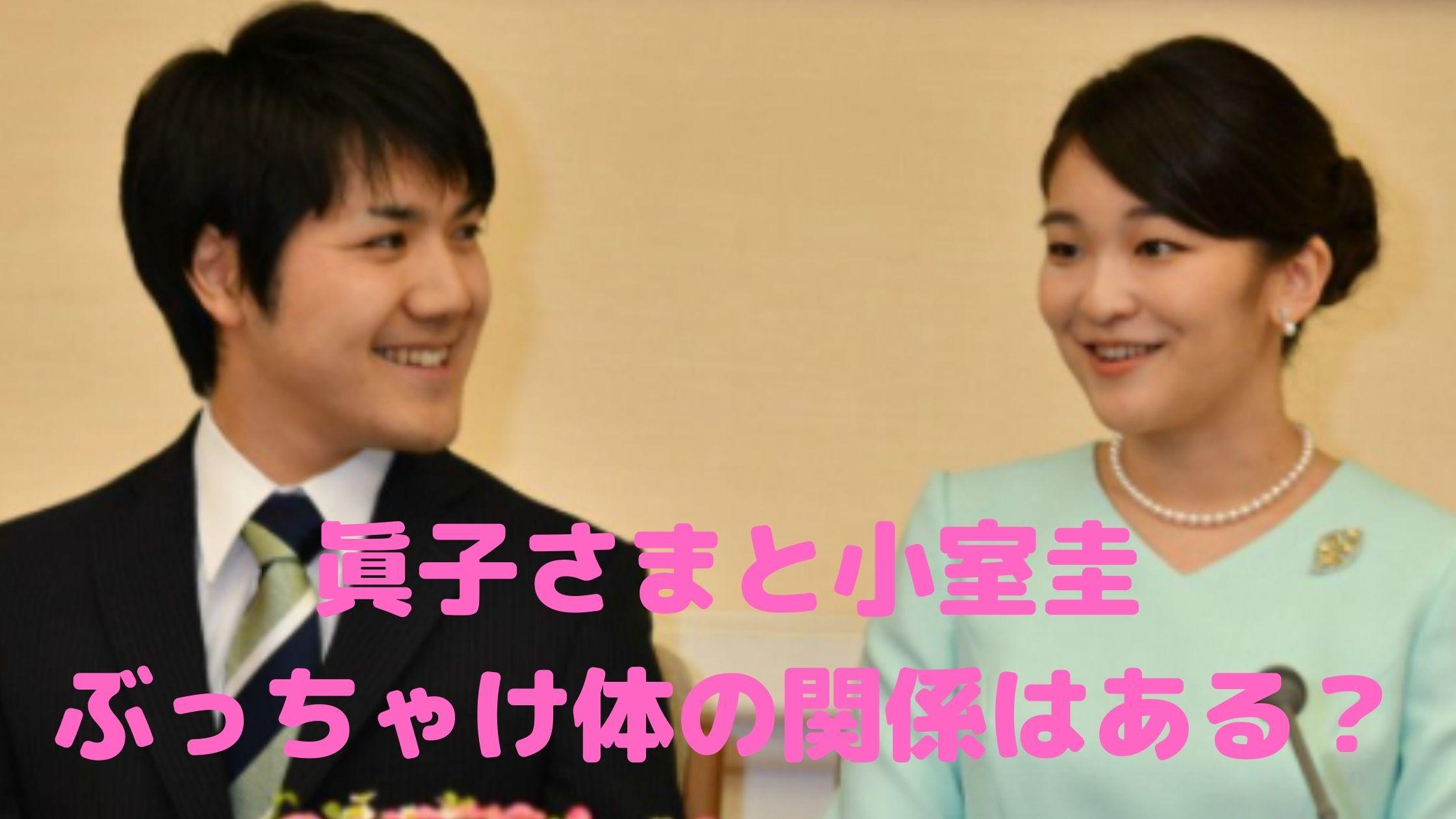 眞子さま 小室圭 体の関係 馴れ初め デート写真 ペアリング プロポーズ