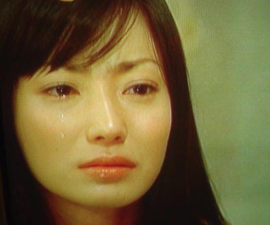 菅野美穂 号泣