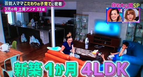 土屋アンナ 自宅 渋谷区