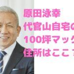 原田泳幸 自宅 渋谷区 代官山 住所 どこ 場所 値段 豪邸