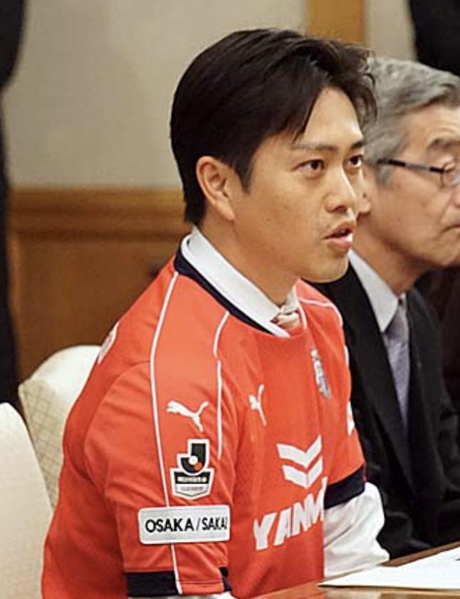 吉村洋文 息子 学校 サッカー