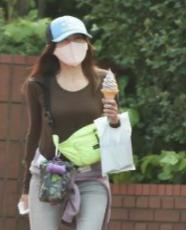 工藤静香 ソフトクリーム