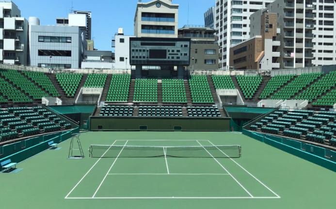 靱(うつぼ)テニスセンター