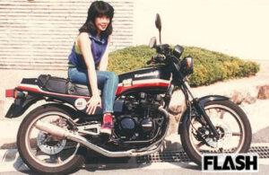 高市早苗 若い頃 バイク
