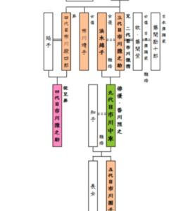 香川照之 市川猿之助 従兄弟 家系図