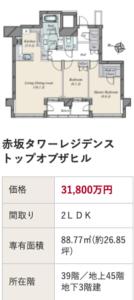 櫻井翔 自宅 マンション 赤坂タワーレジデンス