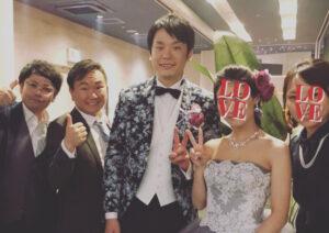 濱家隆一 嫁 結婚式