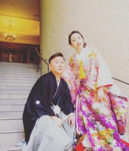 山内健司 嫁 知亜貴 結婚式 Instagram