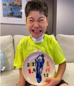 野田聖子 子ども 真輝 10歳