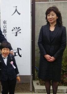 野田聖子 息子 真輝 入学式 小学校