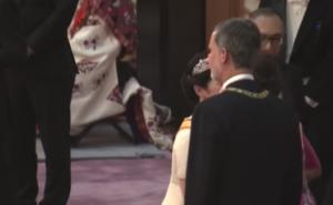 紀子さま スペイン国王 叱られた 動画