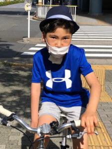 野田聖子 息子 真輝 自転車