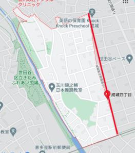 浜田雅功 自宅 住所 成城4丁目